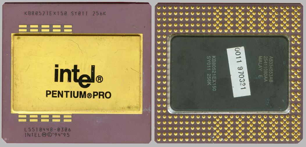 Intel pentium pro p6